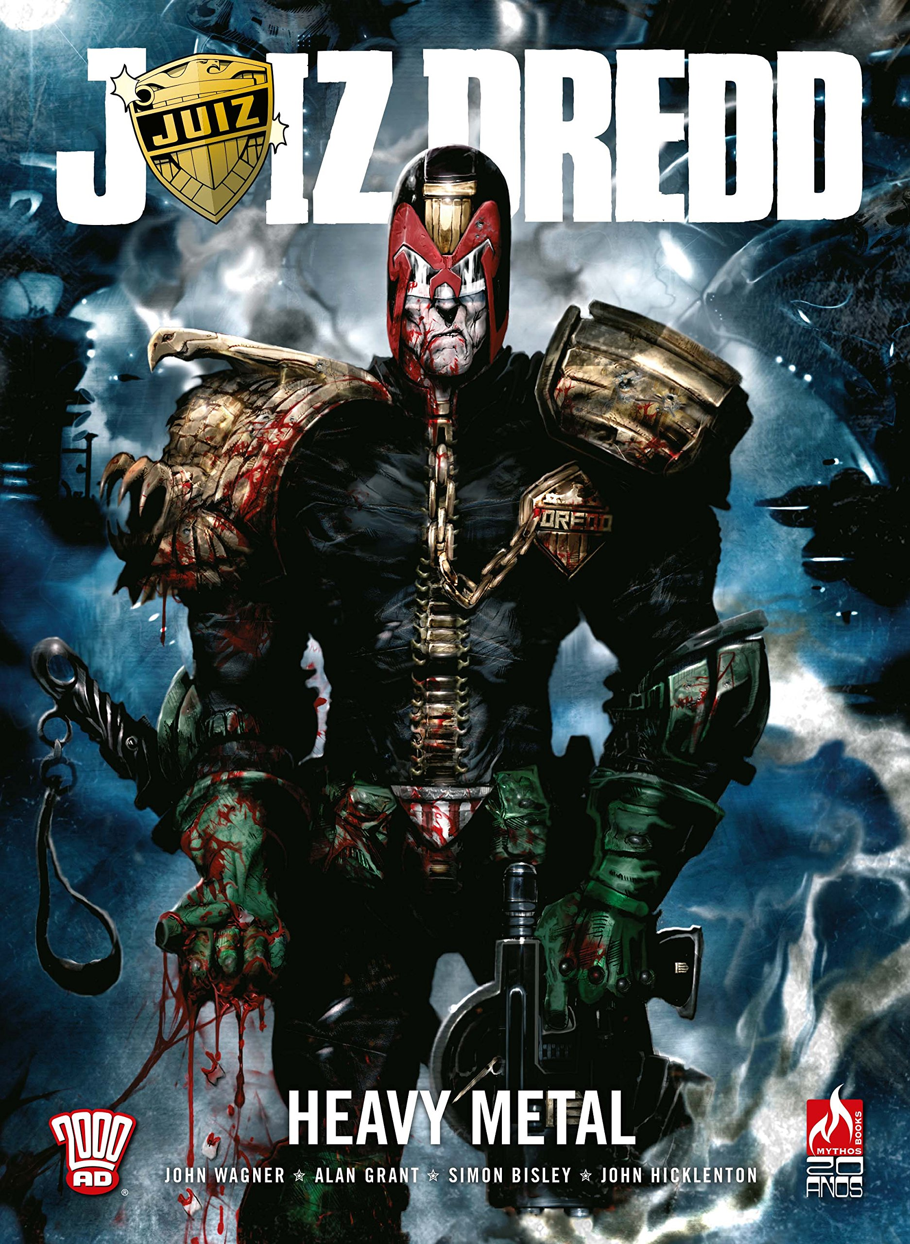 Resenha   Juiz Dredd: Heavy Metal