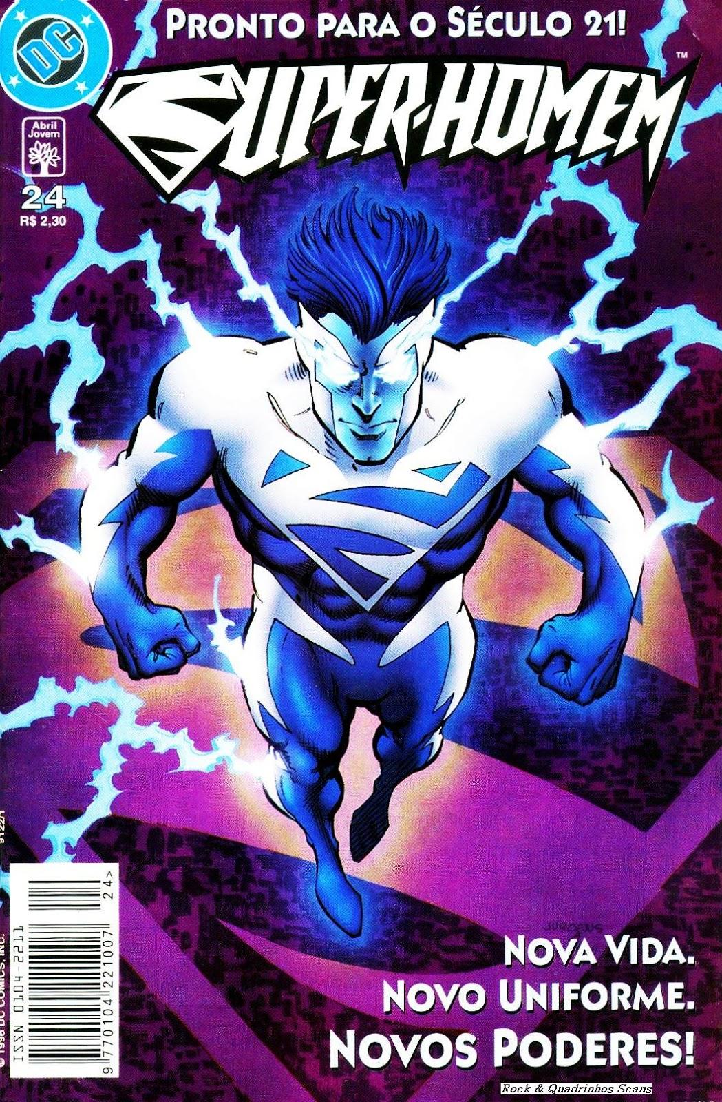 O que Aconteceu com o Superman Elétrico?