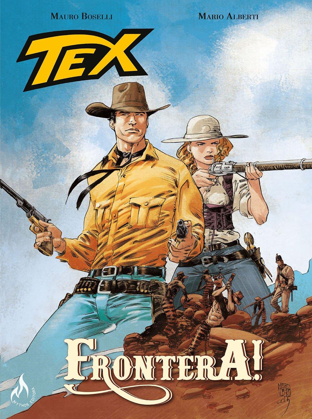 Resenha | Tex Graphic Novel: Frontera! – Volume 2