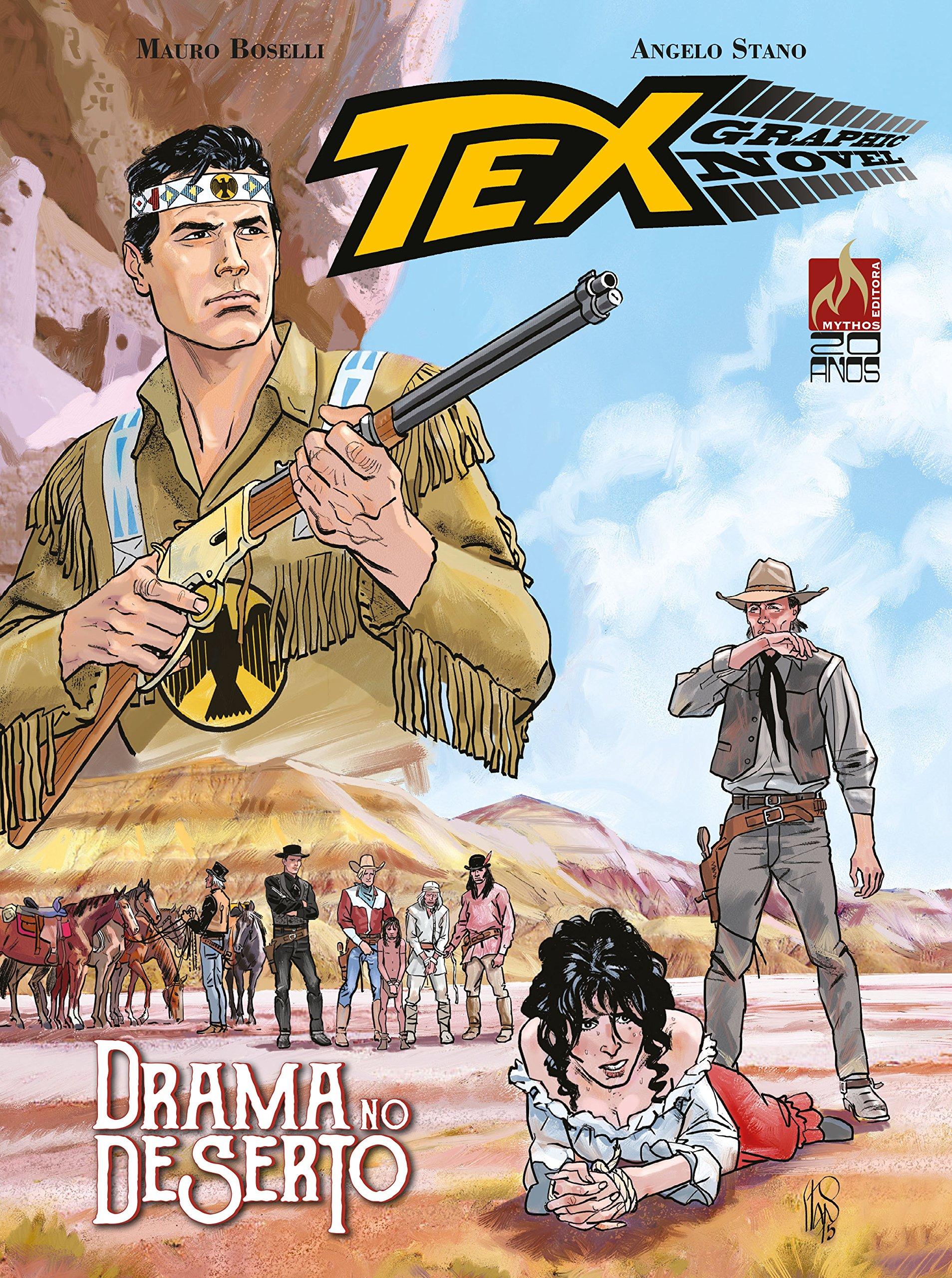 Resenha | Tex Graphic Novel: Drama no Deserto – Volume 3