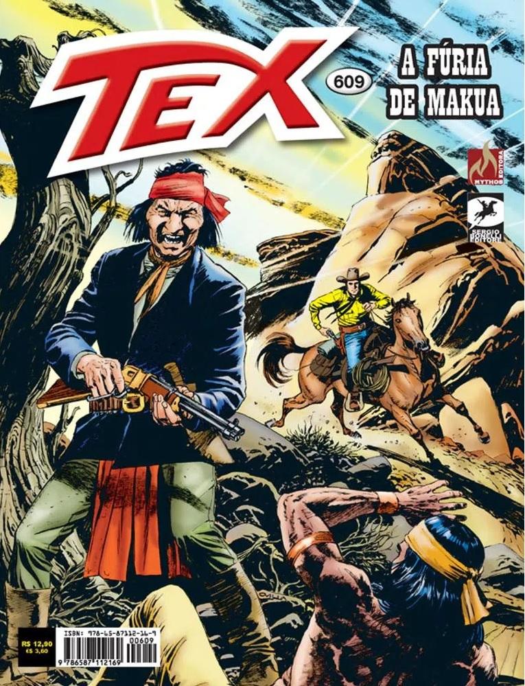 Resenha | Tex 609: A Fúria de Makua