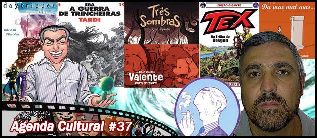Agenda Cultural 37 | Especial: Quadrinhos