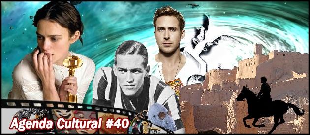 Agenda Cultural 40 | Hugo, Drive, O Artista e muito mais